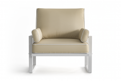 Outdoor Armchair Angie | Beige
