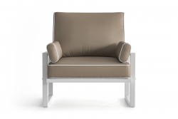 Outdoor Armchair Angie | Brown