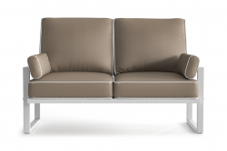 Outdoor 2 Seater Angie | Brown