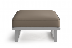 Outdoor Pouf Angie | Brown