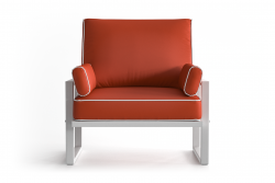 Outdoor Armchair Angie | Coral