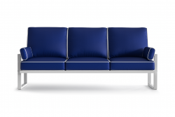 Outdoor 3 Seater Angie | Blue