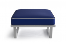 Outdoor Pouf Angie | Blue