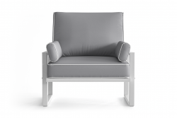 Outdoor Armchair Angie | Grey
