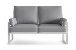 Outdoor 2 Seater Angie | Grey