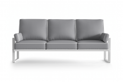 Outdoor 3 Seater Angie | Grey
