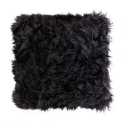 Sheepskin Pillow | Black