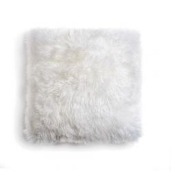 Sheepskin Pillow | White