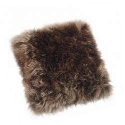 Sheepskin Pillow | Taupe