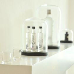 Cloche en Verre Pleasure Domes | Noir
