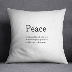 Cushion | Peace