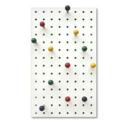 Peg-it-all Storage Panel | Coloured
