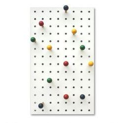 Peg-it-all Storage Panel | Coloured