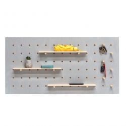 Triventi Pegboard Rectangular | Grey