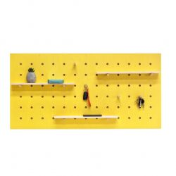 Triventi Pegboard Rectangular | Yellow