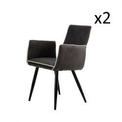 Stuhl Penelope | Schwarz - 2er-Set