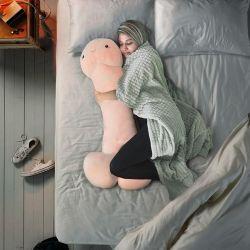 Kissen Penis 100 cm | Hellrosa