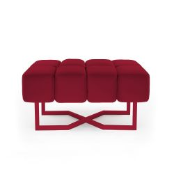 Seat Puffy M | Ruby Red