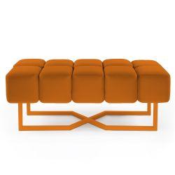 Seat Puffy L | Orange