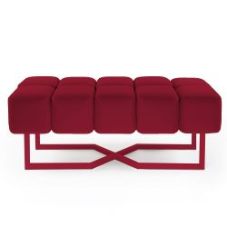 Seat Puffy L | Ruby Red