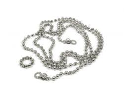 Fotoleine Perle 10 Magnete | Silber