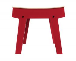 Pi Stool | Cherry Red