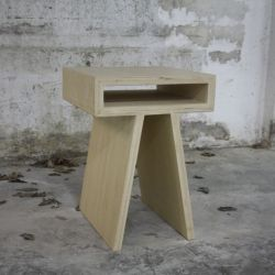 Pi-stool with storage
