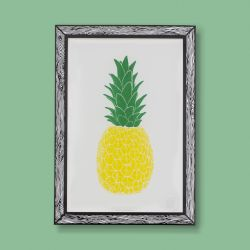 Art Print Piña | Yellow & Green