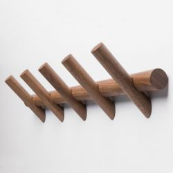 Coat Hanger METER 5 | Walnut