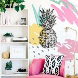 Wanddekoration Ananas