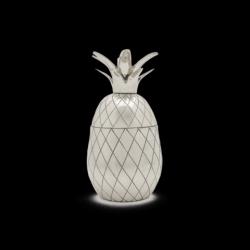 Ananas-Tumbler | Silber