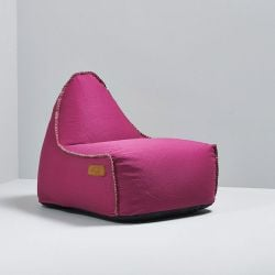 Sitzsack RETROit Canvas | Rosa