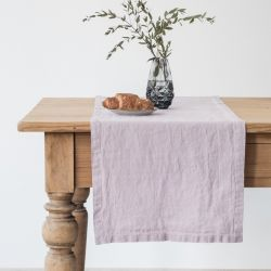 Chemin de table 150 x 40 cm | Lavande rose
