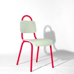 Dining Chair | Pink & White