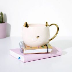 Katzenbecher | Weiß