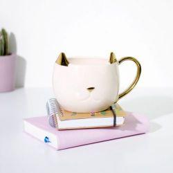 Cat Mug | White