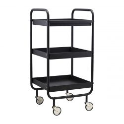 Trolley Roll High | Black
