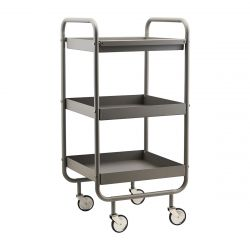 Trolley Roll High | Grey