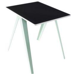 Sanba Tisch | Grün, Schwarz-Weiß