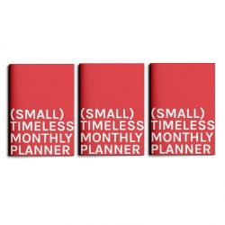(Small) Timeless Monthly Planner | Set of 3