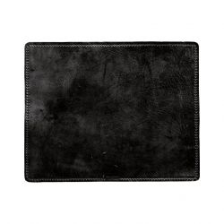 Leather Placemat Rectangular | Black