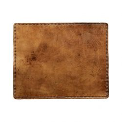 Leather Placemat Rectangular | Brown