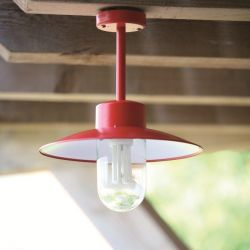 Belcour Outdoor Hanglamp Rood