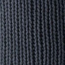Plaid Knit Handgemacht | Schwarz