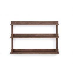 Wall Shelf 3 Platforms | Walnut