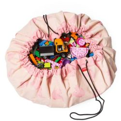 Toy Storage Bag | Pink Elephant