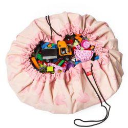 Spielzeug-Aufbewahrungstasche | Rosa Elefant