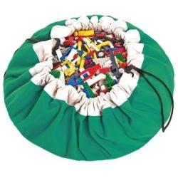 Spielzeug-Aufbewahrungstasche | Grün