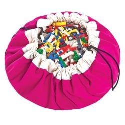Toy Storage Bag | Fuchsia