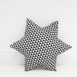Star Pillow | Triangles